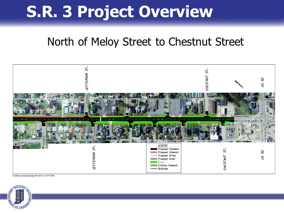 S.R. 3 Project Overview North of Meloy Street to Chestnut Street