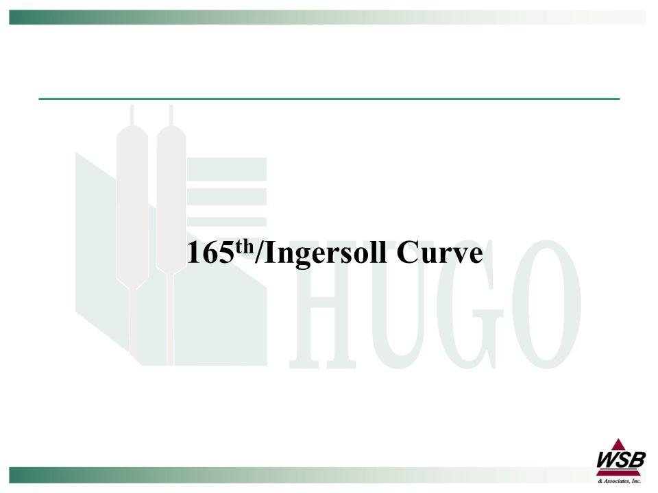 165 th /Ingersoll Curve