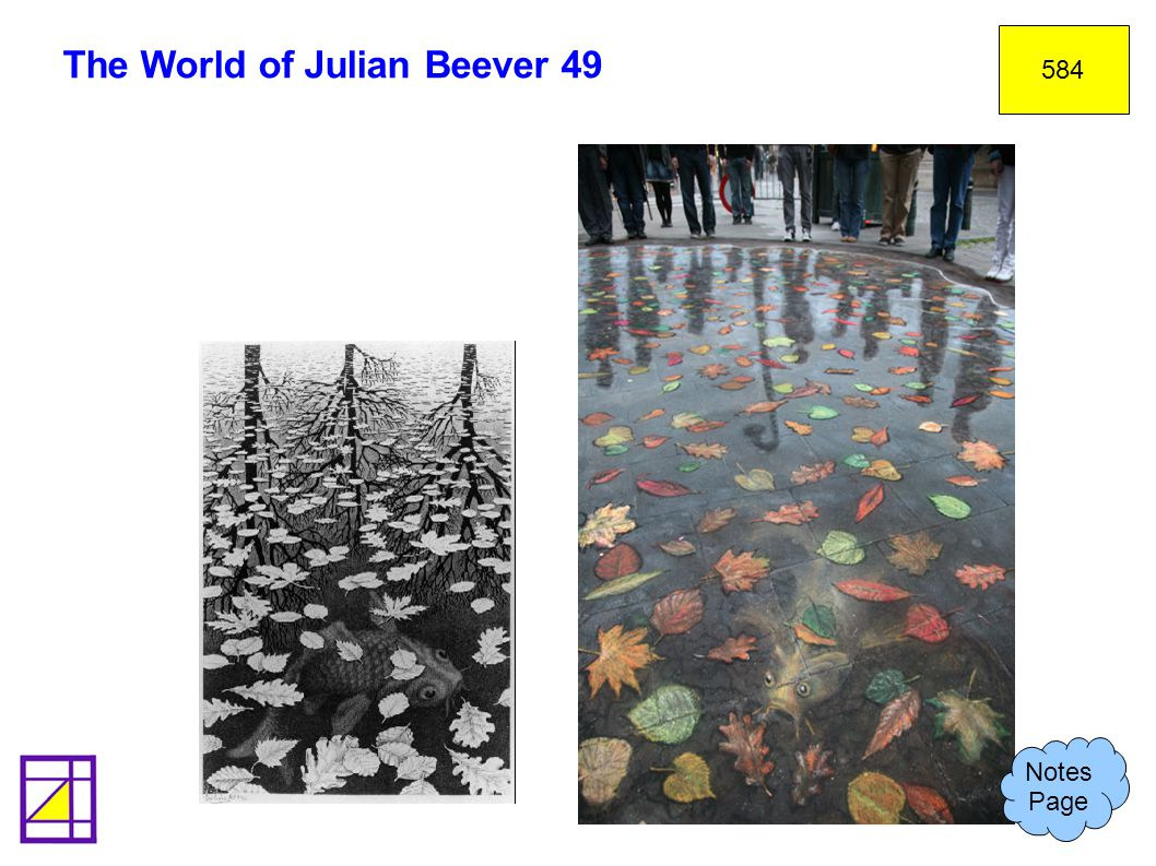 The World of Julian Beever 49 584 Notes Page