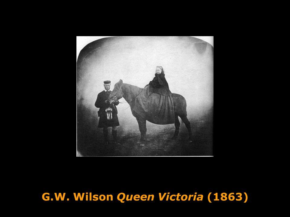 G.W. Wilson Queen Victoria (1863)