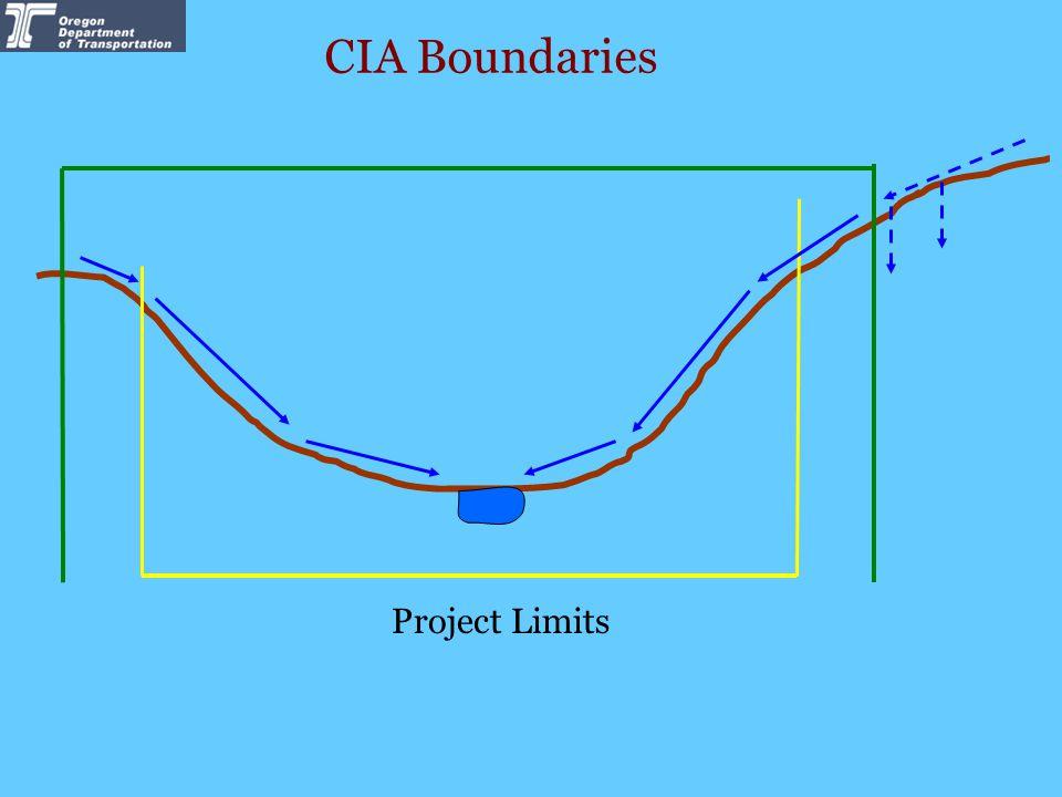 CIA Boundaries Project Limits