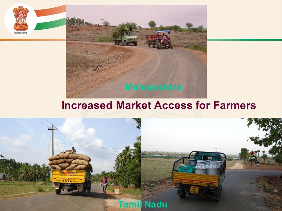 Increased Market Access for Farmers Maharashtra Tamil Nadu