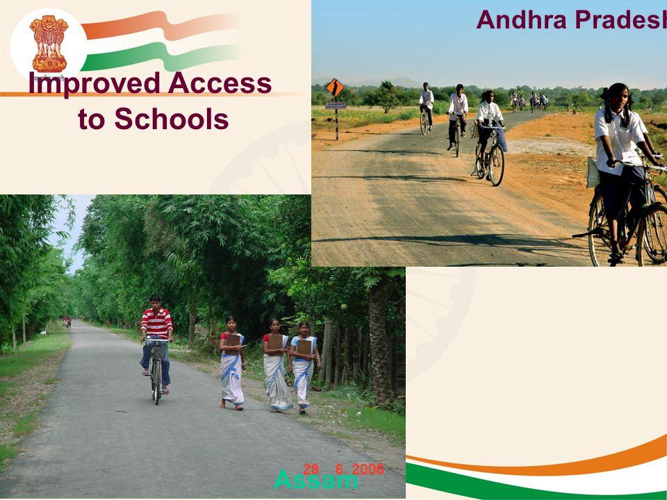Improved Access to Schools Andhra Pradesh Assam