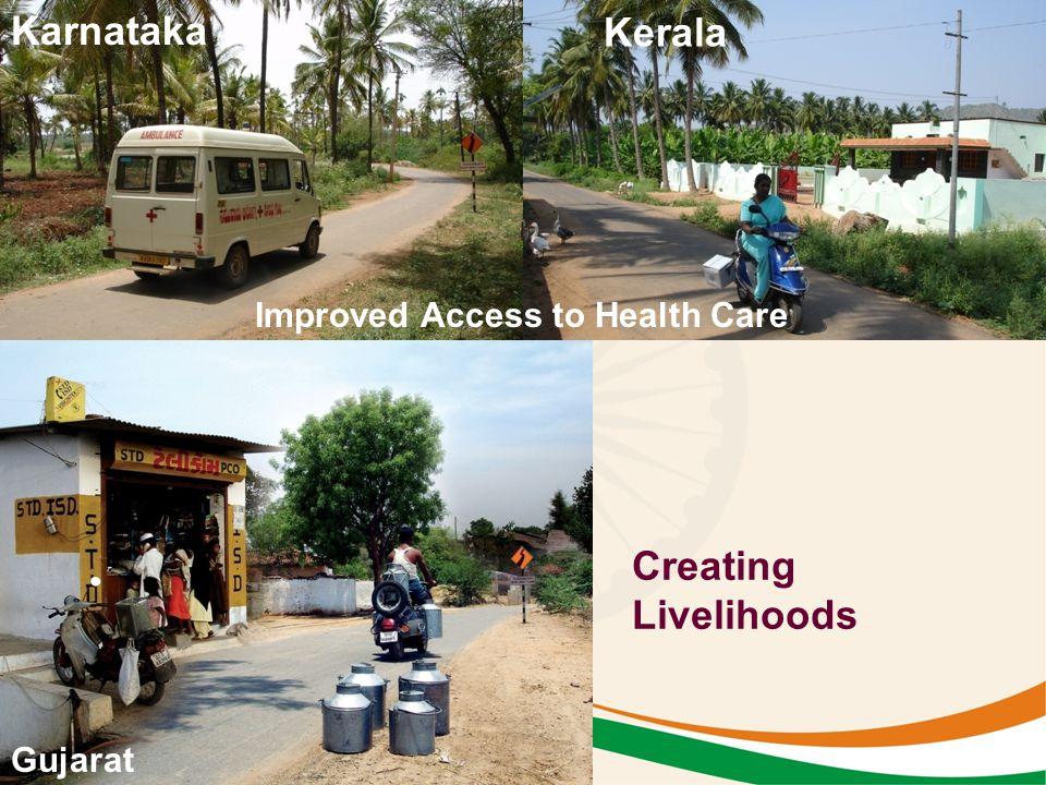 Improved Access to Health Care Creating Livelihoods Gujarat Kerala Karnataka