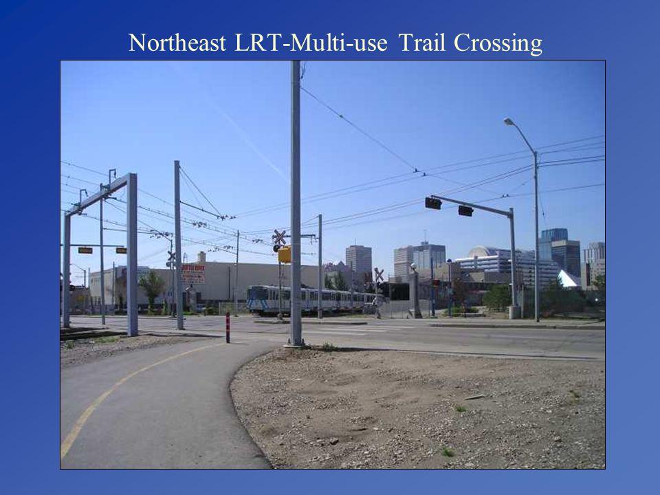 Northeast LRT-Multi-use Trail Crossing