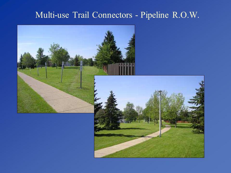 Multi-use Trail Connectors - Pipeline R.O.W.