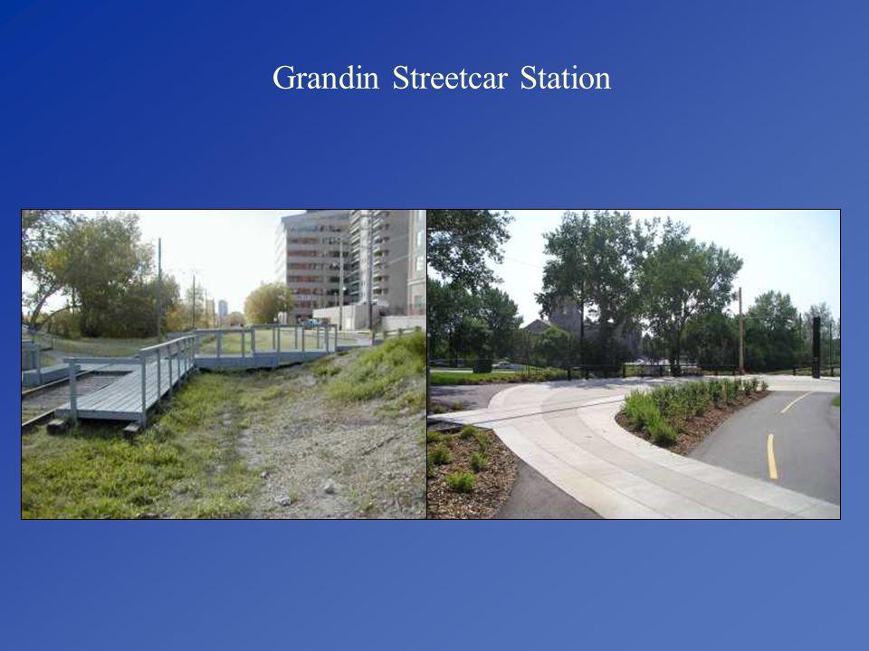 Grandin Streetcar Station
