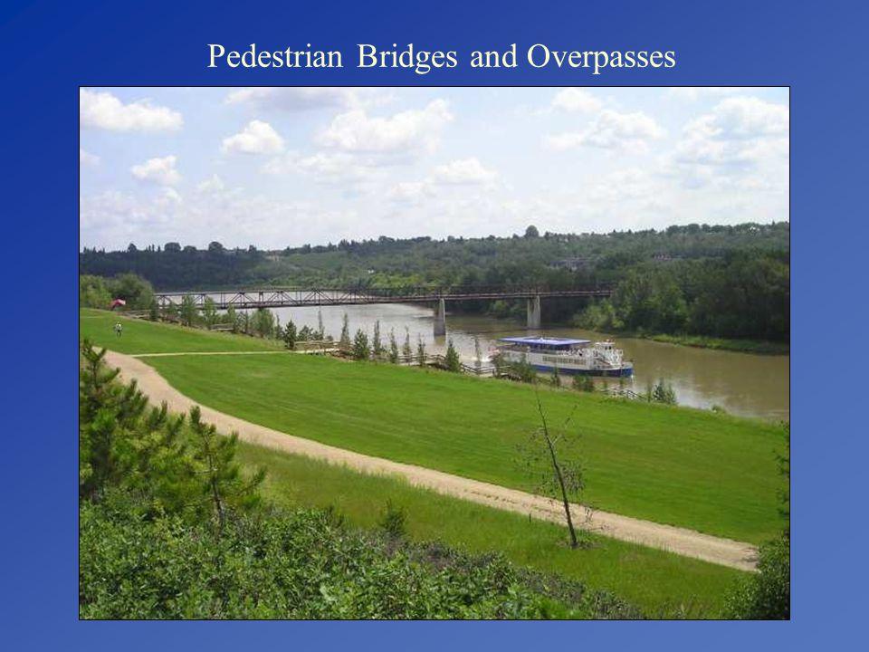 Pedestrian Bridges and Overpasses