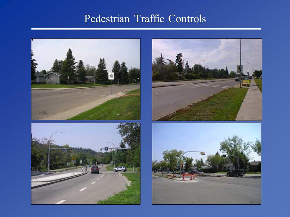 Pedestrian Traffic Controls