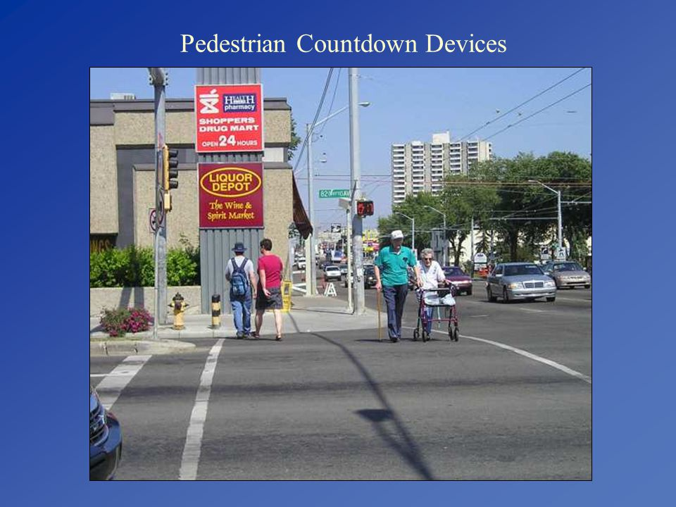 Pedestrian Countdown Devices