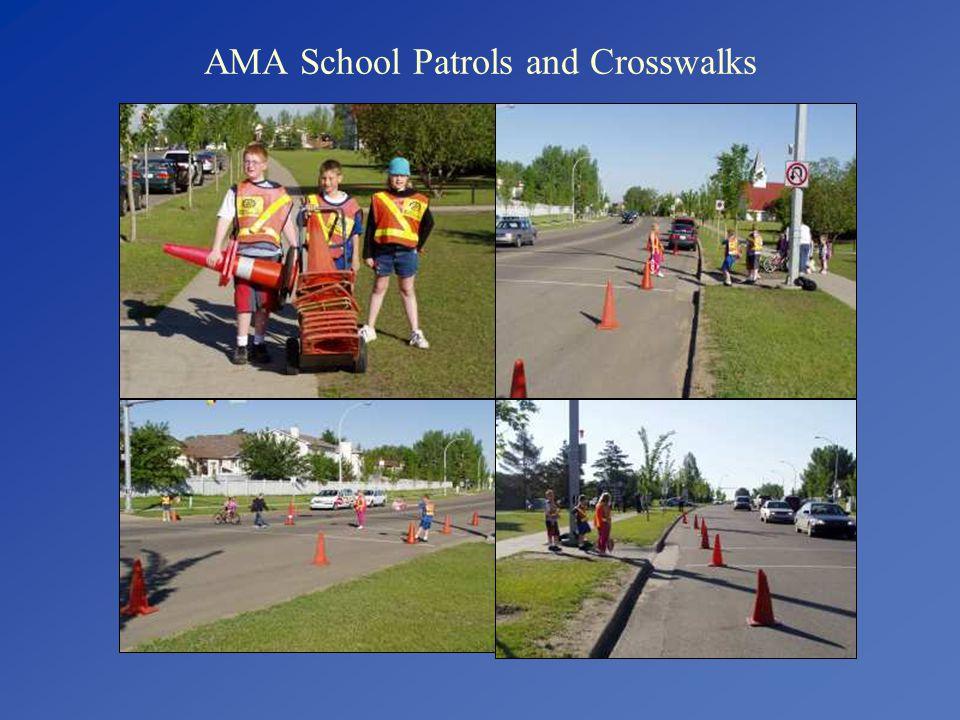 AMA School Patrols and Crosswalks