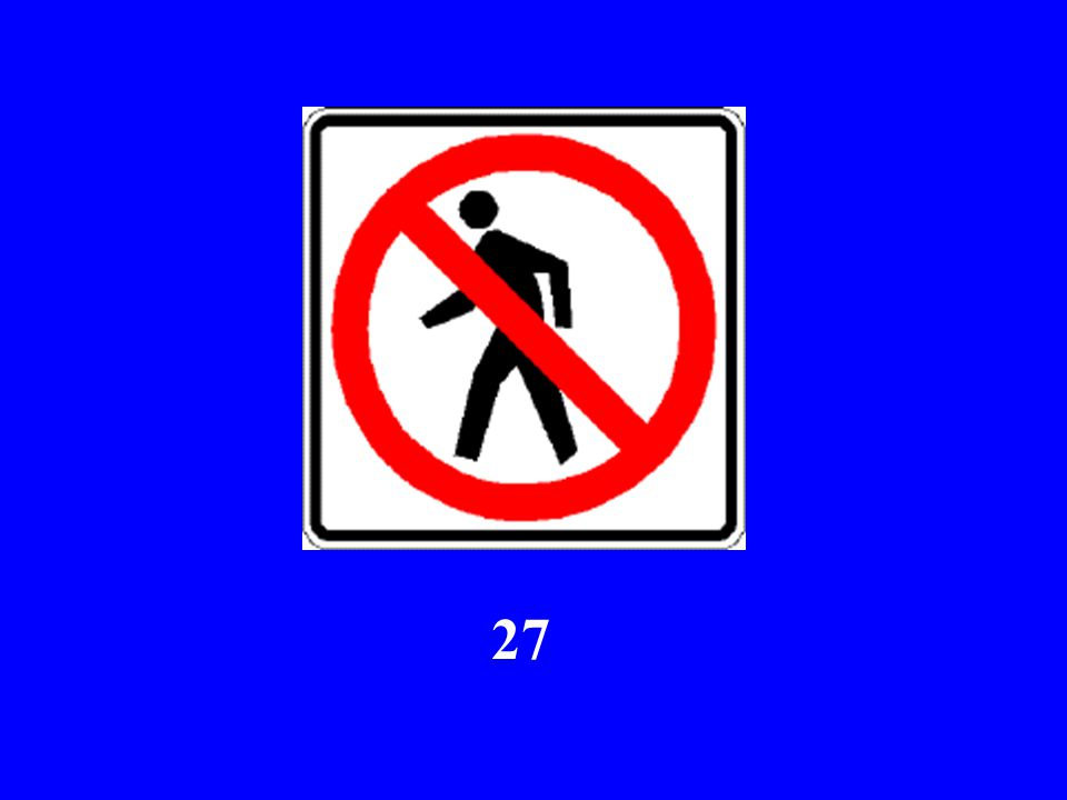Here Comes Sign #27...
