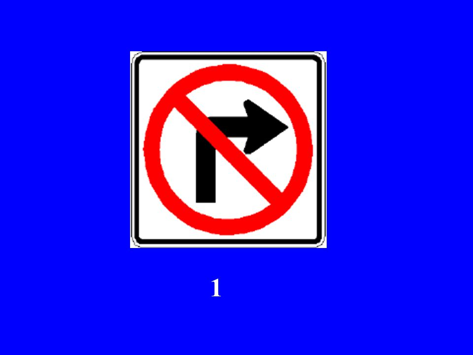 Here Comes Sign # 1...
