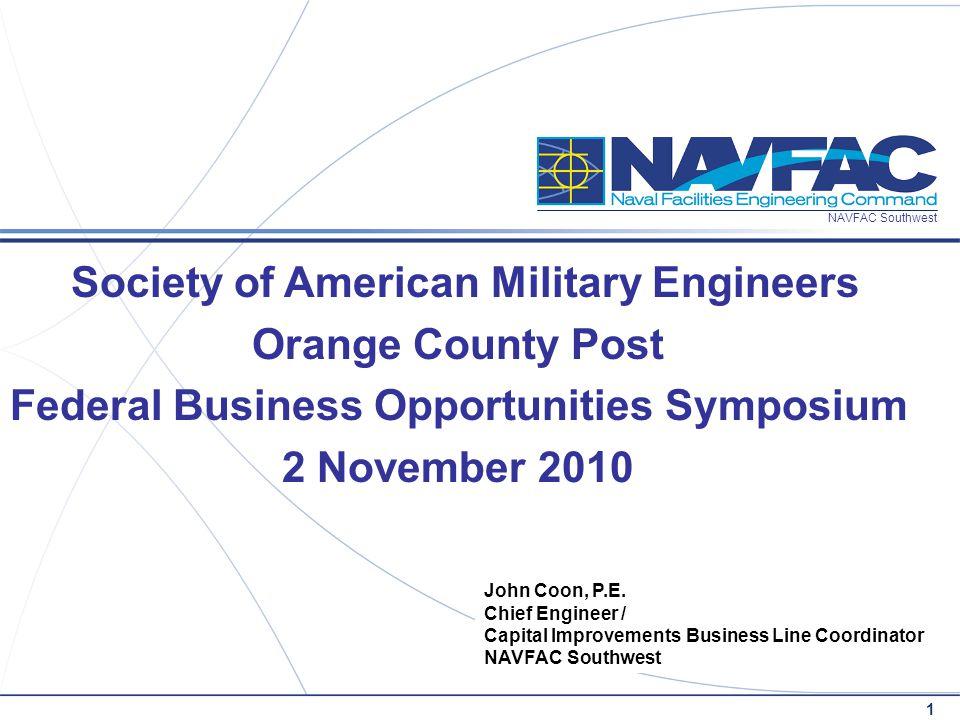 2 NAVFAC Southwest 2 November 2010 Operations CAPT M.