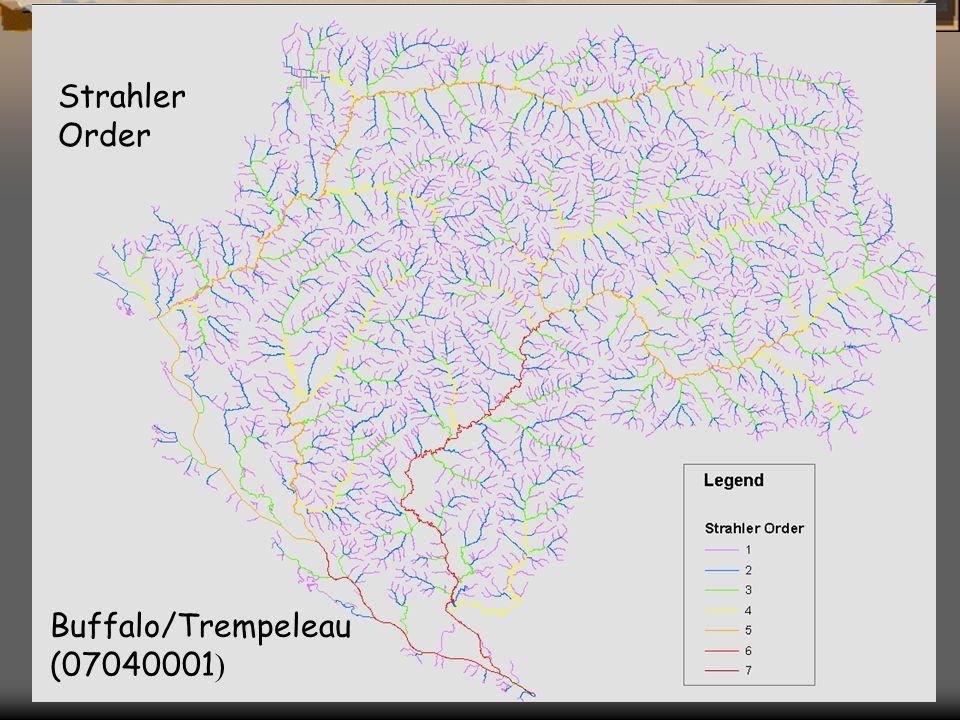 Buffalo/Trempeleau (07040001 ) Strahler Order