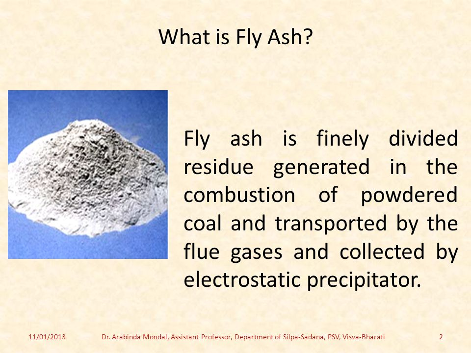 What is Fly Ash.