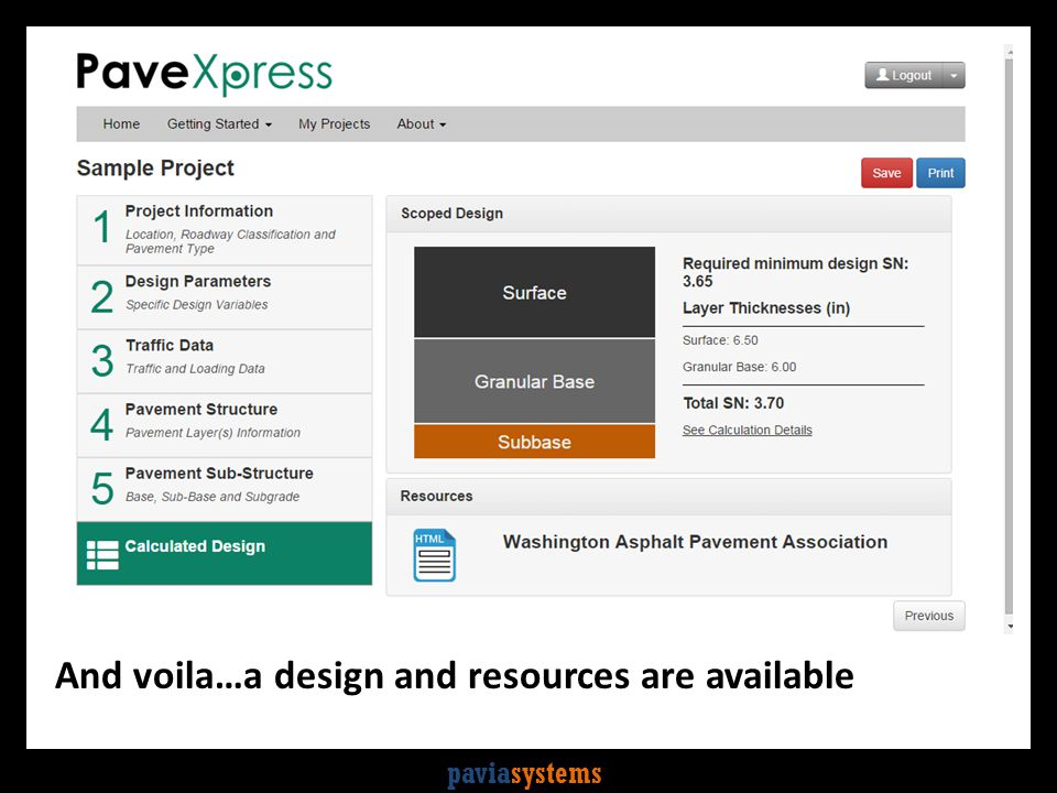 paviasystems And voila…a design and resources are available