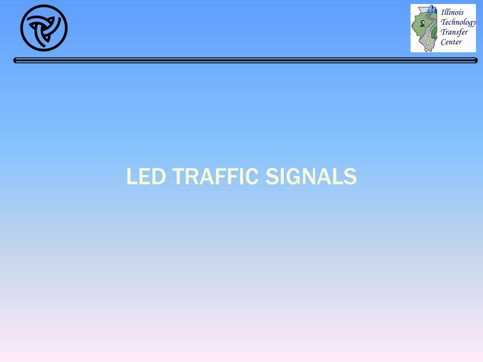 LED TRAFFIC SIGNALS