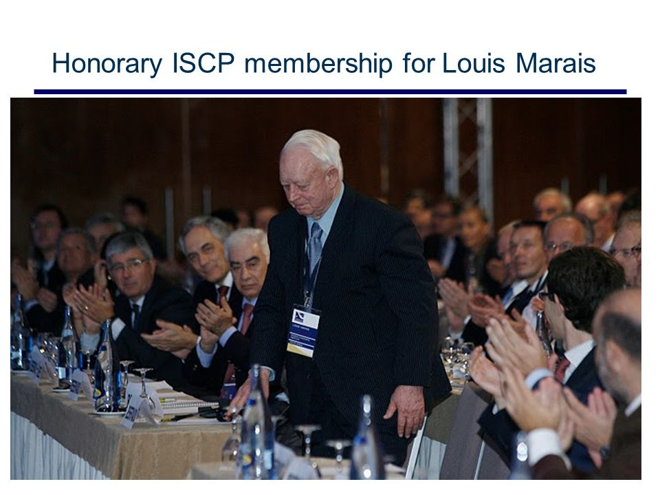 Slide 11 Honorary ISCP membership for Louis Marais © CSIR 2006 www.csir.co.za