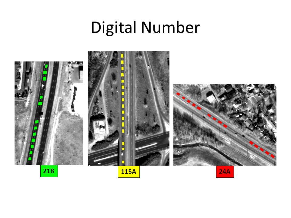 Digital Number 21B 115A24A