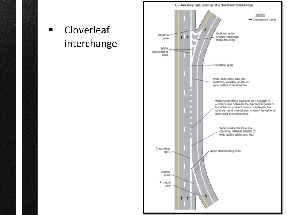  Cloverleaf interchange