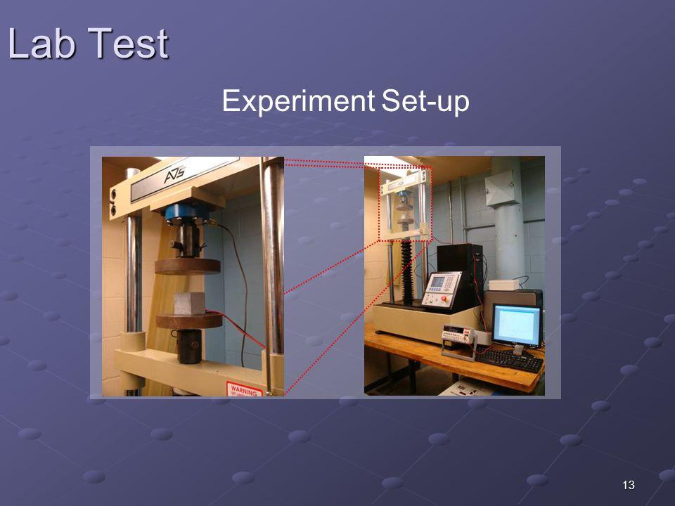 13 Lab Test Experiment Set-up