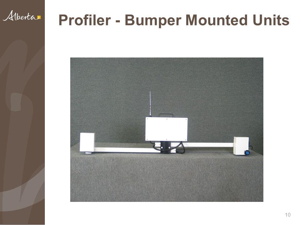 Profiler - Bumper Mounted Units 10