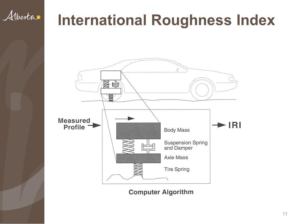 International Roughness Index 11