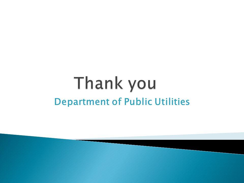 Department of Public Utilities