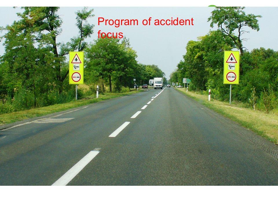 Program of accident focus