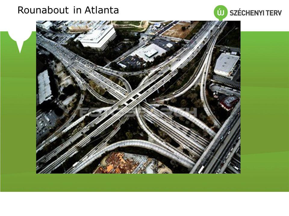 Rounabout in Atlanta