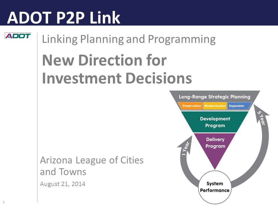 Questions? Thank you! ADOT P2P Link 12 ADOT P2P Draft Final Report: http://www.azdot.gov/planning/