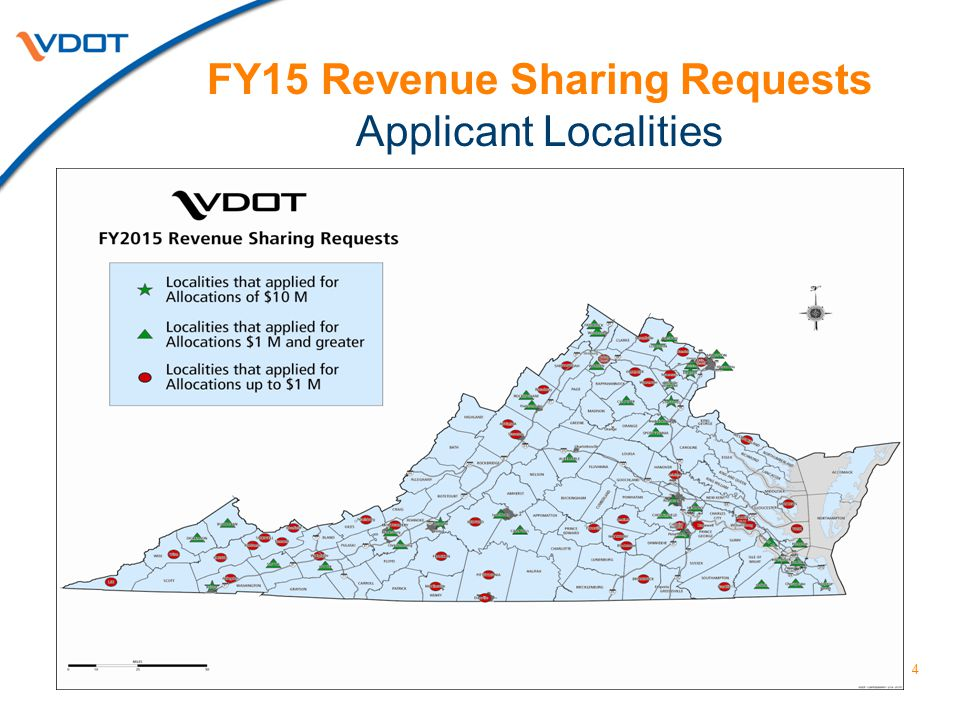 5 PriorityFY15 State Match Requests FY15 Local Match Funding Previous and Other Funding Total Value CN Priority $157,235,301 $463,025,002$777,495,604 MN Priority $18,232,423 $5,932,286$42,397,132 All Others $5,285,747 $49,474,406$60,045,900 TOTALS$180,753,471 $518,431,694$879,938,636 TOTAL PROGRAM VALUE FY15 Revenue Sharing Program Update