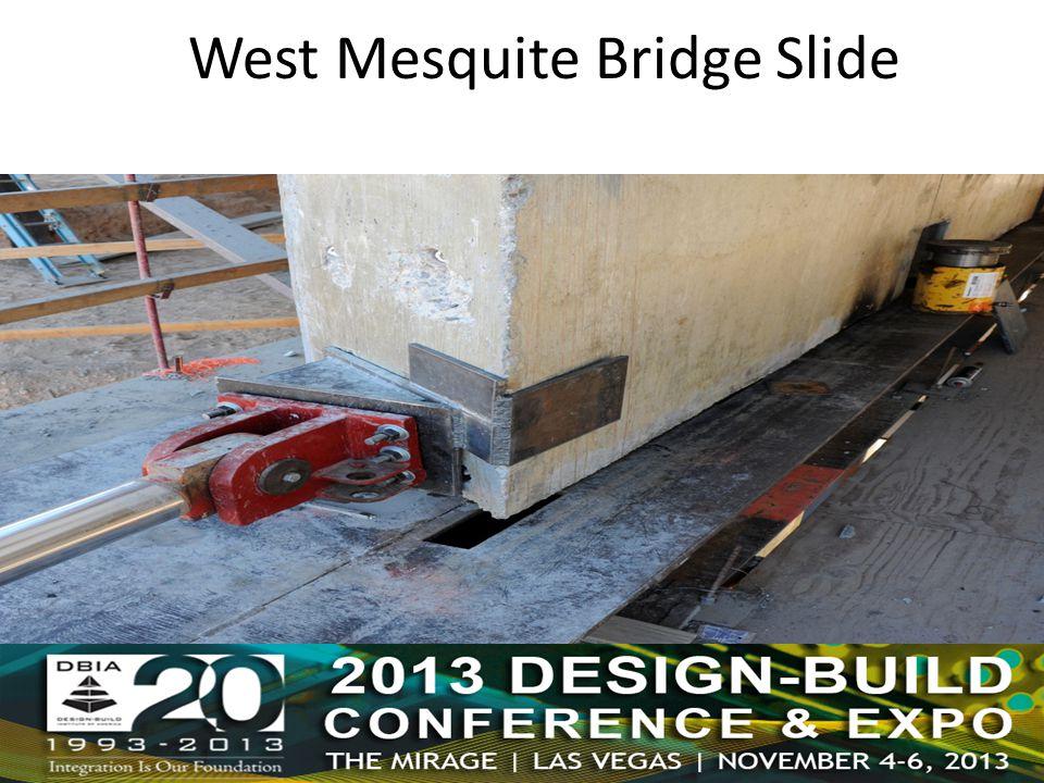 West Mesquite Bridge Slide