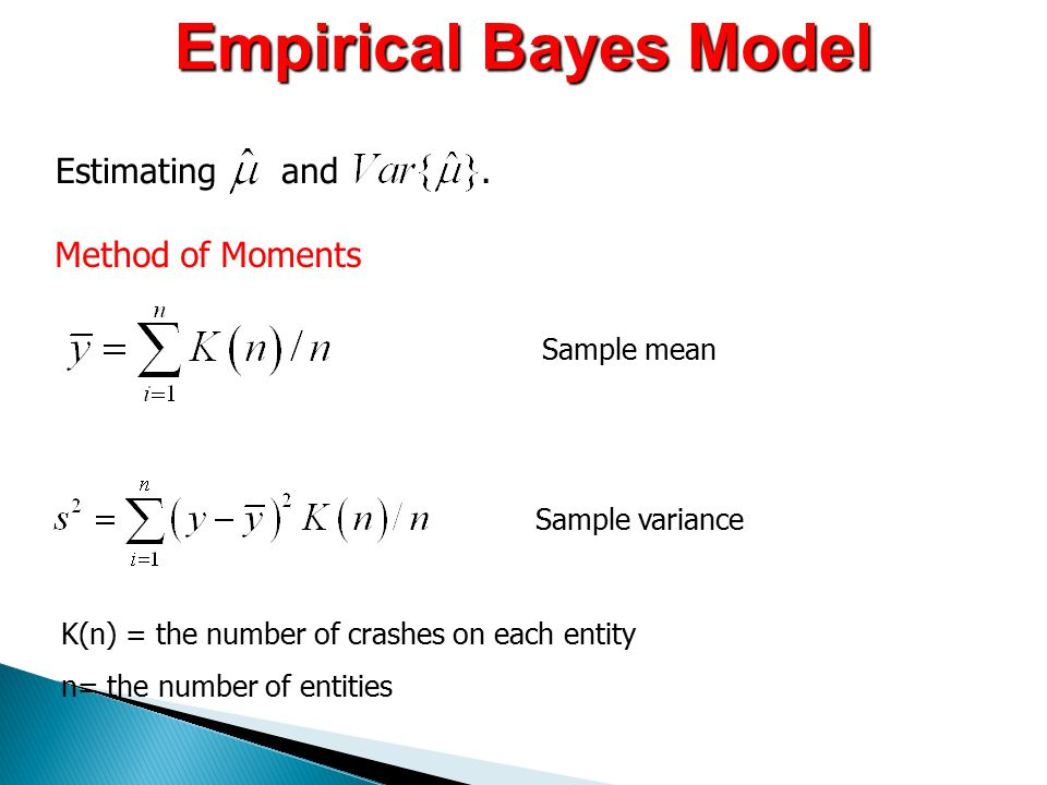 Empirical Bayes Model Estimating and.
