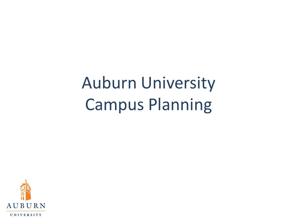 Auburn University Campus Planning