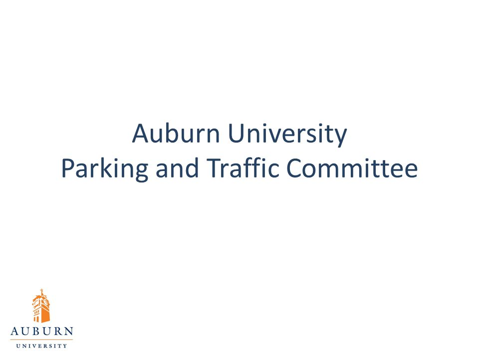 Auburn University Parking and Traffic Committee