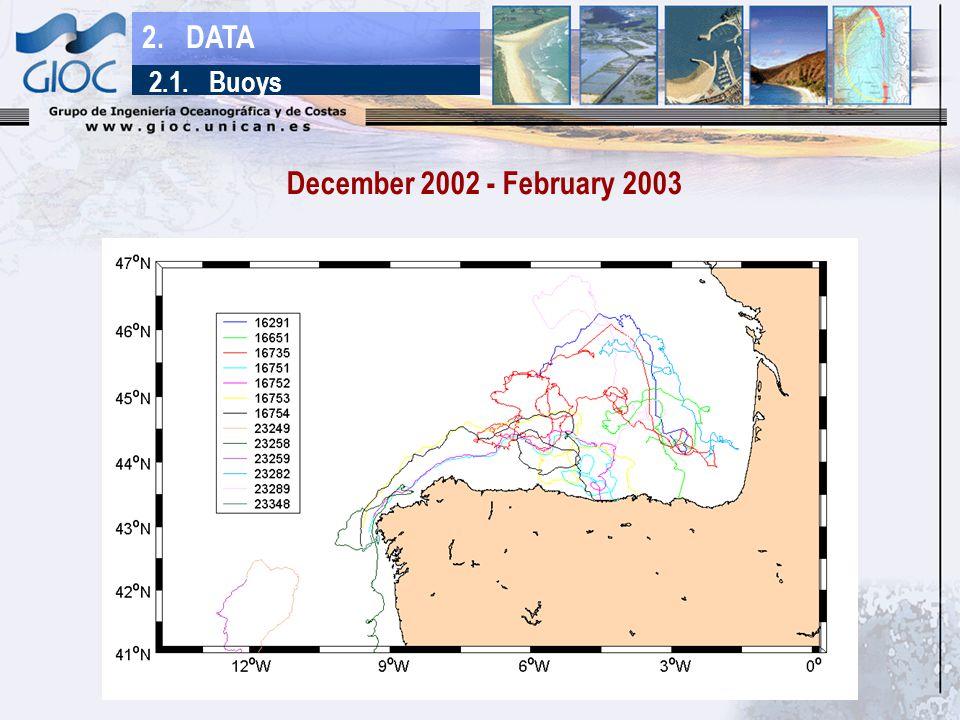 December 2002 - February 2003 2. DATA 2.1. Buoys