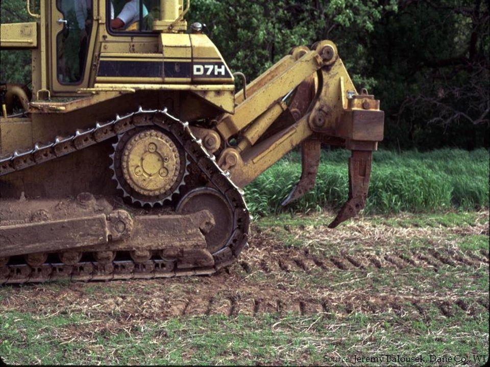 No TreatmentDeep Tilled Chisel PlowedCompost 8 days after seeding Source: Jeremy Balousek, Dane Co., WI