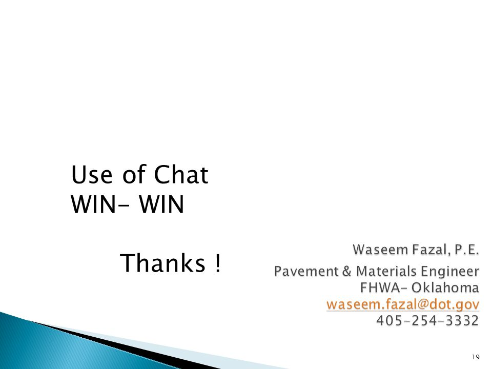 19 Waseem Fazal, P.E.