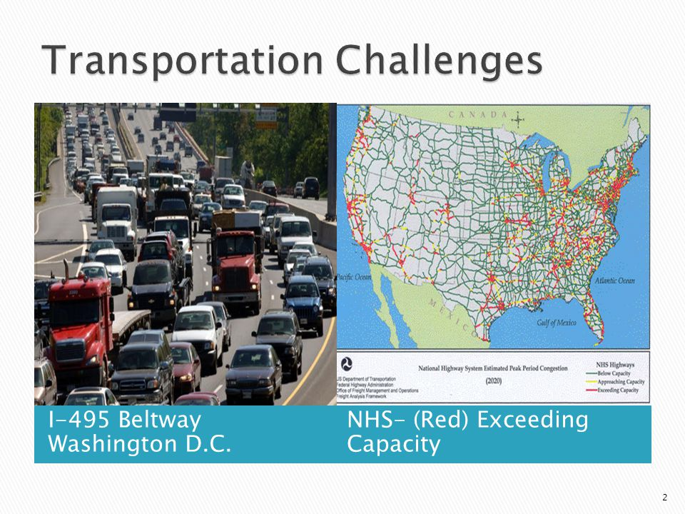 I-495 Beltway Washington D.C. NHS- (Red) Exceeding Capacity 2