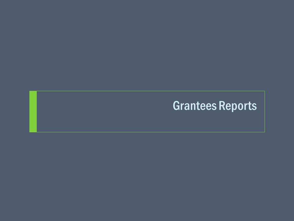 Grantees Reports