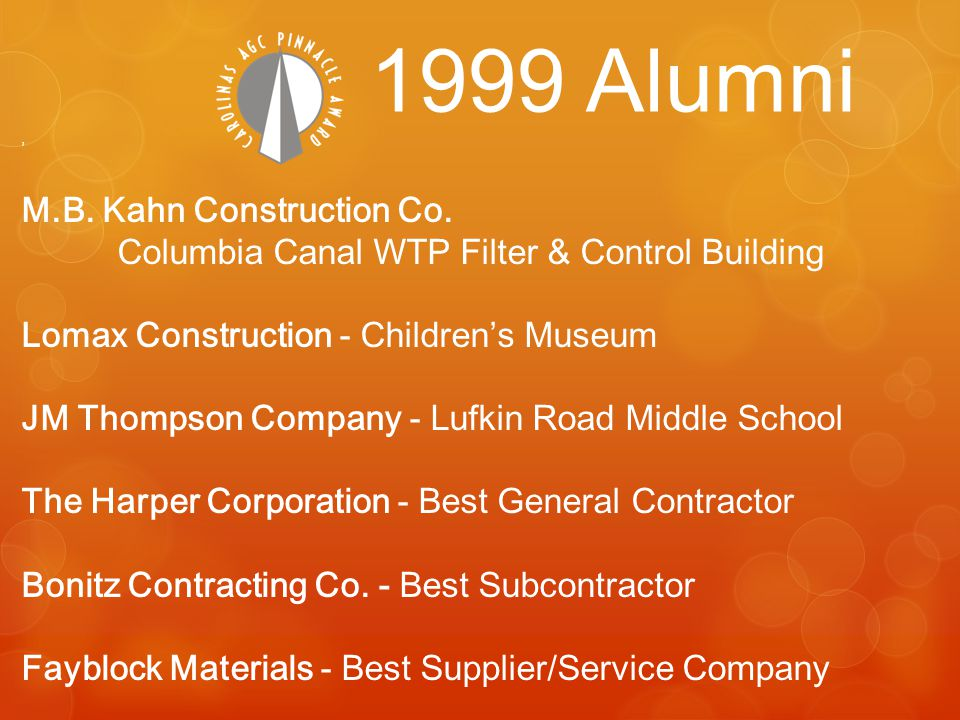 M.B. Kahn Construction Co.