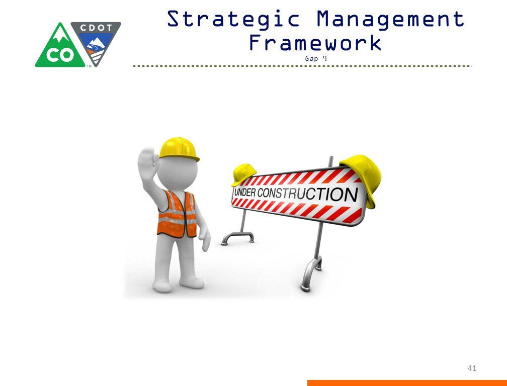 Strategic Management Framework Gap 9 41