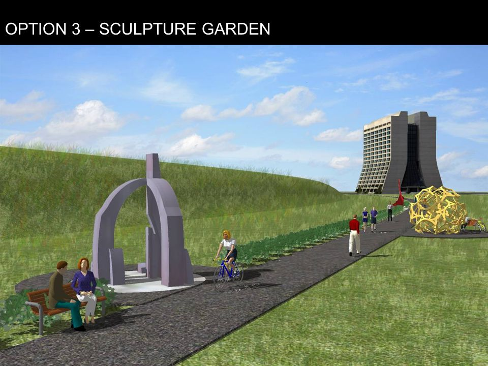 OPTION 3 – SCULPTURE GARDEN