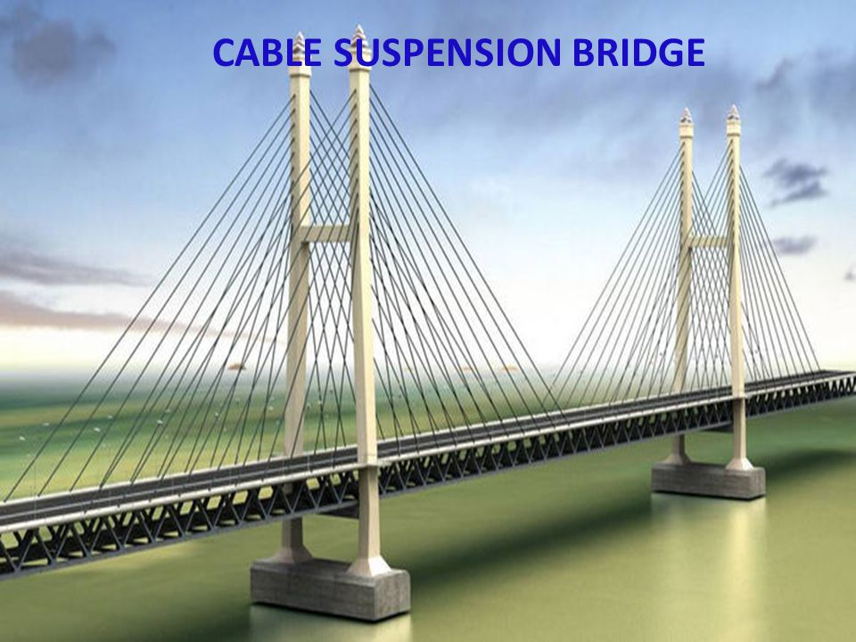 CABLE SUSPENSION BRIDGE