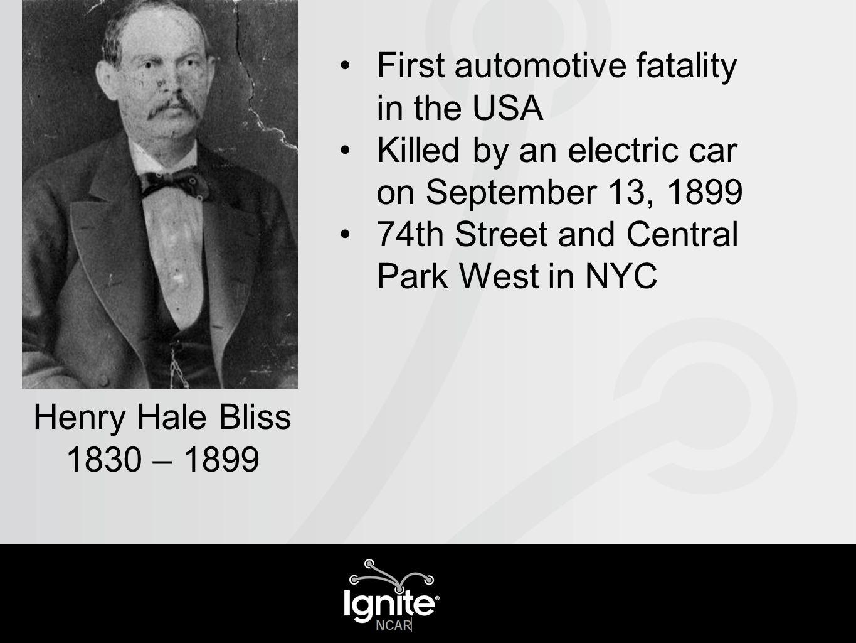 Annual Fatalities - USA