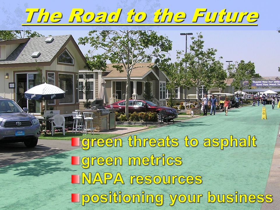 54 Credit based on value Pavement is relatively inexpensive Even 100% RAP – minimal LEED value Same with Regional Materials / Reuse Used to supplement Debatable whether true green practice Why not a carbon footprint approach .