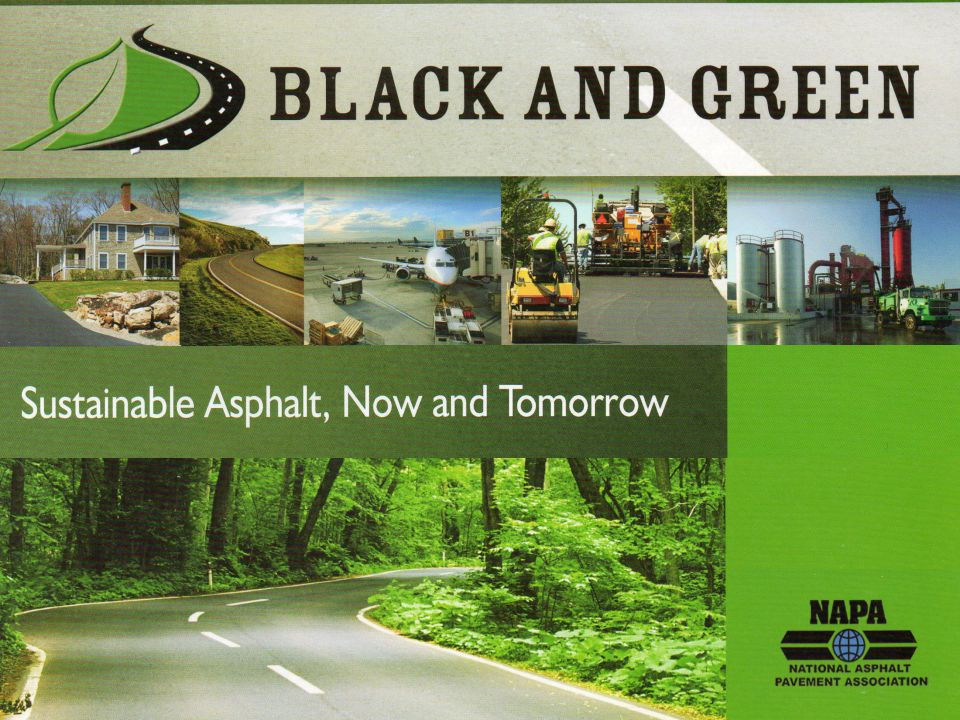 40 LEED credit for asphalt