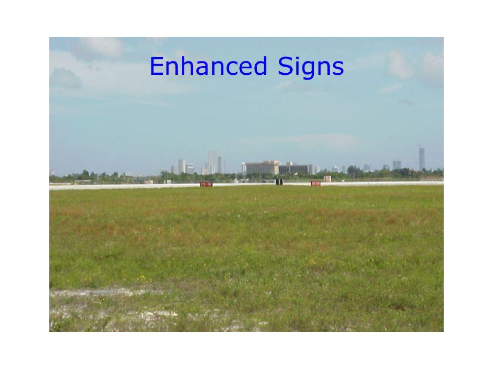Enhanced Signs
